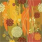 Autumn,Flower,Seamless,Pattern,Floral Pattern,Single Flower,Backgrounds,Vector,Abstract,Art,Decor,Yellow,Growth,Design,Curled Up,Ornate,Textile,Art Product,Ilustration,Vector Ornaments,Vector Florals,Illustrations And Vector Art,Decoration,Vector Backgrounds