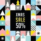 Xmas Sale,Hot Sale,Christmas Sale,Vertical,Abstract,Repetition,Computer Graphics,Geometric Shape,Christmas,Illustration,Shape,Non-Urban Scene,Winter,Computer Graphic,Night,Seamless Pattern,Christmas Tree,Decoration,Season,Backgrounds,Snow,Tree,Fun,Giving,Red,Pattern