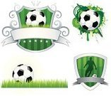 Soccer,Soccer Ball,Insignia,Badge,Shield,Sport,Ball,Banner,Vector,Pattern,Grass,Design,Backgrounds,Ribbon,Grunge,Green Color,Ilustration,Spray,Focus On Background,Wave Pattern,Vector Ornaments,Copy Space,Action,Swirl,Illustrations And Vector Art,Vector Backgrounds