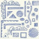 Scribble,Graph Paper,Doodle,Circle,Pencil Drawing,Paper,Lined Paper,Square Shape,Shape,Triangle,Incomplete,Rectangle,Drawing - Art Product,Ellipse,Hand-drawn,Vector,Design Element,Vector Ornaments,Vector Backgrounds,Ilustration,Illustrations And Vector Art