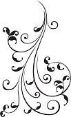 Vine,Flower,Floral Pattern,Ornate,Decorative Art,Swirl,Scroll Shape,Pattern,Art,Leaf,Decoration,Silhouette,Black Color,Old-fashioned,Branch,Decor,Plant,Fragility,Elegance,Design,Drawing - Art Product,Design Element,Clip Art,Nature,Computer Graphic,Twisted,Digitally Generated Image,Ilustration,Creativity,Beauty In Nature,Close-up,Curled Up,Freshness,Isolated On White,Curve