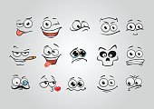 Horizontal,Humor,Stage Set,Anthropomorphic Smiley Face,Tired,Cute,Beauty,Cartoon,Cheerful,Arranging,Displeased,Illustration,Human Body Part,Setter - Athlete,Happiness,Worried,Furious,Fun,Smiley Face,Animated Cartoon,Set,Human Face,Group Of Objects,Anger,Smiling,Crying