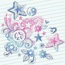 Doodle,Symbols Of Peace,Peace Symbol,Cool,Notebook,Yin Yang Symbol,Scribble,Teen Pop,Heart Shape,Vector,Swirl,Cute,Incomplete,Flower,Ilustration,Single Flower,Paper,Lined Paper,Hand-drawn,Star Shape,Drawing - Art Product,Sketch,Abstract,Pencil Drawing,Illustrations And Vector Art,Scroll Shape,Fun,Vector Ornaments,Vector Backgrounds