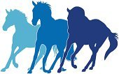 Horse,Running,Silhouette,Horseback Riding,Arabian Horse,Vector,Blue,Animals In The Wild,Stallion,Clip Art,Computer Icon,Training Class,Freedom,Animal,Horse Family,Thoroughbred Horse,Design Element,One Animal,Pets,Hoofed Mammal,Domestic Animals,Male Animal,Animals And Pets,Farm Animals,Nature,Mammal
