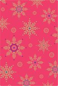 Christmas,Pattern,Retro Revival,Winter,Snowflake,Holiday,Wrapping Paper,Old-fashioned,Elegance,Purple,Computer Graphic,Wallpaper Pattern,Pink Color,Vector,Gold Colored,Multi Colored,Ilustration,Luxury,Digitally Generated Image,Season,Turquoise,Repetition,Wealth,Design Element,No People,Christmas Decoration,Vertical,Snow,Ornate,yuletide,Christmas Design,Illustrations And Vector Art,Isolated On Red,vector illustration,Colored Background,Intricacy,Holidays And Celebrations,Snowing,Christmas