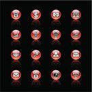 Interface Icons,Push Button,Red,Symbol,Icon Set,Computer Icon,Black Color,Vector,Internet,Finance,Handshake,Communication,Shiny,Circle,Global Communications,Business,Wealth,Contract,Making Money,Agreement,Light Bulb,Dollar Sign,Lighting Equipment,Dollar,Searching,European Union Currency,Letter,Isolated On Black,Isolated,Internet Icon,Reflection,Business Icon,business icons,Illustrations And Vector Art,Business Icon,Black Background,Ilustration,Paper Clip,Padlock