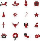 Reindeer,Christmas,Holiday,Sled,Symbol,Icon Set,Angel,Tree,Deer,House,Black Color,Cross,Backgrounds,Sign,Design,Religion,Vector,Holly,Design Element,Animal,Snowman,Bell,Abstract,Sock,Candy,Ilustration,Red,Star Shape,Leaf,Ribbon,Gift,Clip Art,Computer,Snowflake,Color Image,Illustrations And Vector Art,Nature,Vector Icons