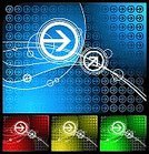 Abstract,Arrow Symbol,Circle,Backgrounds,Pattern,Textured,Vector,Blue,Swirl,Futuristic,Funky,Red,Geometric Shape,In A Row,Color Gradient,Art,Design,Computer Graphic,Backdrop,Wire Frame,Sparse,Modern,Elegance,technical background,Clean,tech background