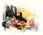 Urban Scene,Grunge,City,Design,Cityscape,Backgrounds,Graffiti,Vector,Urban Skyline,Orange Color,Cross Shape,Black Color,Built Structure,Youth Culture,Swirl,Ilustration,Yellow,Textured Effect,Gray,Arrow Symbol,Scroll Shape,Spray,Splattered,Architecture And Buildings,Arts Backgrounds,Urban Grunge,Arts And Entertainment,Abstract Grunge,No People,Spray Paint,Illustrations And Vector Art
