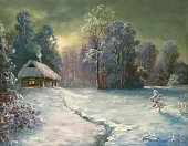 Christmas,Non-Urban Scene,Winter,Snow,House,Landscape,Night,Paintings,Cartoon,Tree,Outdoors,Forest,Holiday,Nature,Cabin,Blue,Ilustration,Paint,Painted Image,Road,Horizontal,Vacations,Woodland,Illuminated,Footpath,Ice,White,Tranquil Scene,Snowing,Clean,Cold - Termperature,Art,Frost,Image,Dark,Colors,Season,Coniferous Tree,Snowdrift,No People,Frozen,Purity,Winter,Color Image,Spruce Tree,Weather,Christmas,New Year's,Holidays And Celebrations,Silence,Nature,Wood - Material
