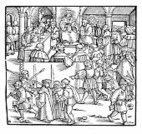 78273,XVI Century,Late Middle Ages,Horizontal,Decisions,Justice - Concept,Retro Styled,Judgement,Black And White,Computer Graphics,Art And Craft,Sketch,Art,Woodcut,16th Century,Punishment,Old-fashioned,Crime,Courthouse,Old,Engraved Image,Judge - Law,16th Century Style,Illustration,Symbol,Medieval,Law,Cultures,Computer Graphic,Social History,Antique,History,Etching,Engraving,Real People,Torture,Old,Monoprint,Design,Drawing - Art Product,Lady Justice,Sitting