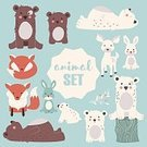 Child,268399,Square,Characters,Friendship,Humor,Sleeping,Fox,Deer,Offspring,Bear,Animal Wildlife,Animal,Cute,Bear Cub,Cartoon,Collection,Animals In The Wild,Illustration,Polar Bear,Tree Stump,Symbol,Rabbit - Animal,Woodland,Fawn,Aubusson,Education,Forest,Part Of,Bear,Tail,Young Animal,Character,Hare,Cub,Tree,Fun,Design,Drawing - Art Product,Label,Orange Color,Blue,Sitting,Pattern,Smiling,White Color,Design Element,Brown