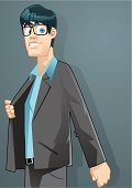 Men,Characters,Fashion,Male,Cartoon,Vector,Ilustration,Fashion Model,People,Male Beauty,Businessman,Eyeglasses,Cheerful,Young Adult,Drawing - Art Product,Computer Graphic,Beautiful,Looking At Camera,Clip Art,Posing,White Collar Worker,Cheesy Grin,Shadow,Occupation,Human Teeth,Confidence,Mammal,West Coat,Joy,Illustrations And Vector Art,Vector Cartoons,Toothy Smile