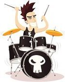 Drum,Punk,Musical Band,Punk,Modern Rock,Rock and Roll,Popular Music Concert,Music,Heavy Metal,Percussion Instrument,Cymbal,Performance,Role Model,Gong,Adolescence,Character Traits,Music,Arts And Entertainment,Celebrities,Power,Earring,Performing Arts Event,Youth Culture,Concepts And Ideas