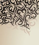 Tattoo,Backgrounds,Pattern,Retro Revival,Modern,Old-fashioned,Frame,Beige,Swirl,Design,Classical Style,Scroll Shape,Abstract,Color Image,Brown,Black Color,Ornate,Vector,Computer Graphic,Shape,Computer,Painted Image,Curve,Decoration,Style,Leaf,Beauty,Wallpaper Pattern,Ilustration,Design Element,Deco,Creativity,Fashion,Paintings,Image,Beautiful,Decor,Vector Backgrounds,Illustrations And Vector Art,Vector Florals,Vector Ornaments,Elegance