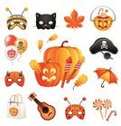 Halloween,Symbol,Pirate,Autumn,Carnival,Mask,Hat,Party - Social Event,Candy,Vector,Pumpkin,Ilustration,Leaf,Holiday,Set,Bag,Umbrella,Cultures,Horror,Sweet Food,Chestnut,Bee,Balloon,Season,Variation,Pyrotechnics,Devil,Collection