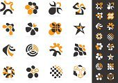 Sign,Design Element,Circle,Abstract,Symbol,Design,Icon Set,Shape,Three-dimensional Shape,Computer Graphic,Futuristic,Vector,Geometric Shape,Modern,Curve,Symmetry,Set,Multi Colored,Identity,Collection,Conceptual Symbol,Reflection,Clip Art,Illustrations And Vector Art