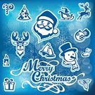 Square,No People,Deer,Candle,Gingerbread Cake,Holiday - Event,Horned,Christmas,Collection,Snowflake,Illustration,Icon Set,Computer Icon,Christmas Decoration,Symbol,December,Snowman,Winter,Christmas Cake,Decoration,Reindeer,Season,Sleigh,Christmas Ornament,Sled,Vector,Set,Blue,Greeting