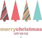 Horizontal,Retro Styled,No People,Greeting Card,Christmas,Illustration,Decoration,Backgrounds,Vector,Pattern
