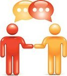 Handshake,Stick Figure,Symbol,Meeting,Partnership,People,Agreement,Discussion,Communication,Simplicity,Color Image,Concepts,Orange Color,Vector,Standing,Teamwork,Vector Icons,Illustrations And Vector Art,Communication,Design Element,Information Symbol,Ilustration,Concepts And Ideas