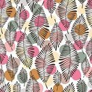 Square,No People,Tropical Climate,Plant,Ornate,Tropical Rainforest,Vegetable,Illustration,Nature,Poster,Organic,Autumn,Seamless Pattern,Botany,Environment,Forest,Season,Backgrounds,Print,Tree,Design,Drawing - Art Product,Pattern,Floral Pattern,White Color