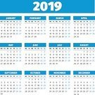 Monthly,Vertical,Routine,No People,Background,Day,Personal Organizer,Template,2019,Illustration,Month,Business Finance and Industry,Season,Week,Backgrounds,Calendar,Business,Vector,Red