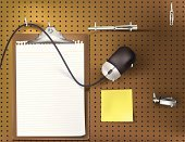 Pegboard,Computer Mouse,Clipboard,Pen,Metal,Adhesive Note,Work Tool,Paper,Hole,Torn,Sticky,Office Interior,Cable,Chrome,Binder Clip,Paper Clip,Blank,Clip,Yellow Pad,Scroll Wheel,Usb Thumb Drive,Business Concepts,Lined Paper,Document,Business Backgrounds,Ink,Equipment,Business,thumb drive,USB Cable,Pattern,Mouse Buttons