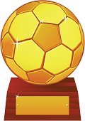Trophy,Soccer,Vector,Soccer Ball,Gold,Gold Colored,Base,Ball,Sport,Nameplate,Wood - Material,Label,Award,Ilustration,Yellow,Illustrations And Vector Art,Single Object,Success,Isolated On White,Concepts,Shiny,Sports And Fitness,Concepts And Ideas,White Background,Front View,Square,Isolated