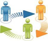 People,Diagram,Flow Chart,Three-dimensional Shape,Symbol,Circle,Stick Figure,Arrow Symbol,Teamwork,Chart,Flowing,Cooperation,Team,Connection,Group Of People,Communication,Order,Meeting,Isometric,Color Image,Simplicity,Strategy,Concepts,Shiny,Information Symbol,Design Element