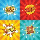 Square,Sign,2017,Christmas,Illustration,Icon Set,Symbol,Exploding,Firework Display,Fun,Party - Social Event