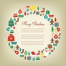 Square,Retro Styled,No People,Greeting Card,Christmas,Illustration,Christmas Decoration,Winter,Decoration,Backgrounds,Christmas Ornament,Vector,Pattern