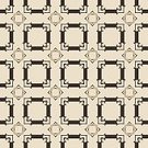 Square,Abstract,Repetition,Retro Styled,No People,Illustration,Seamless Pattern,Backgrounds,Beige,Pattern,Black Color