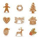 Gingerbread Cookie,Reindeer,Christmas,Cookie,House,Symbol,Gingerbread Man,Holiday,Heart Shape,Spice,Food,Tree,Bread,Winter,Vector,Biscuit,Christmas Decoration,Isolated,Christmas Tree,Baked,Decoration,Candy,Ilustration,Happiness,Shape,Holly,Dessert,Ribbon,Celebration,Design,xmass,Sweet Food,Homemade,Fun,Cultures,Christmas Ornament,Green Color,Snack,Baking,Food And Drink,Illustrations And Vector Art,Holidays And Celebrations,Isolated On White,Christmas,Gourmet,Brown,White Background,Season