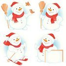 Snowman,Christmas,Winter,Ski,Cartoon,Skiing,Backgrounds,Bird,Banner,Paintings,Holiday,Vector,Cheerful,Scarf,Neckerchief,Happiness,Pattern,Ilustration,Cap,Thumbs Up,Snow,Computer Graphic,Placard,Design,Frost,Headscarf,Blue,White,Celebration,Red,Image,Broom,Christmas,Vector Cartoons,Holidays And Celebrations,New Year's,Traditional Festival,Whiteboard,Creativity,Illustrations And Vector Art