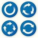 Circle,Arrow Symbol,Symbol,Refreshment,Chart,Diagram,Recycling Symbol,Repetition,Vector,Arrival,Computer Icon,Sign,synchronize,Direction,Efficiency,Icon Set,Blue,Label,White,Single Object,Environmental Conservation,Halftone Pattern,Sticky,Isolated On White,Design Element,Simplicity,Shadow,Color Image