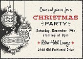 61588,111645,Horizontal,Copy Space,Retro Styled,Holiday - Event,Paper,Christmas,Christmas Card,Illustration,Christmas Decoration,Inviting,Invitation,Decoration,Mod,Christmas Ornament,1950-1959,Textured Effect,Party - Social Event,Text
