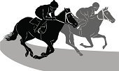 Horse Racing,Horse,Sports Race,Racehorse,Jockey,Competition,Silhouette,Vector,Running,Thoroughbred Horse,Speed,Competitive Sport,Competition,Sports And Fitness,Animals And Pets,Saddle