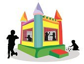 Bouncing,House,Inflatable,Bouncy Castle,Castle,Child,Playground,Playing,Play,Playful,Schoolyard,Babies And Children,Lifestyle