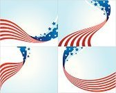 American Flag,Patriotism,Flag,Backgrounds,Star Shape,Fourth of July,Flowing,Blue,White,Red,Holiday Backgrounds,Vector Backgrounds,Holidays And Celebrations,template,National Flag,Illustrations And Vector Art