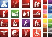 Physical Therapy,Chiropractor,Chiropractic Adjustment,Symbol,Acupuncture,Massaging,Computer Icon,Icon Set,Healthcare And Medicine,Massage Therapist,Walker,Massage Chair,Pain,Walking,Reflexology,Medicine,Caduceus,Crutch,Snake,Acupuncture Needle,Massage Table,Doctor,Exercise Bike,Cane,Wheelchair,Yin Yang Symbol,Surgical Needle,White Background,Lateral Rotation,Reflection,lower back,Medial Rotation