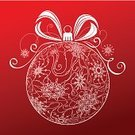 Christmas,Bow,Bow,Snowflake,Red,Abstract,Silhouette,Christmas Ornament,Symbol,Vector,Winter,Red Background,Ribbon,Pattern,Holiday,Design,Computer Graphic,Christmas Decoration,Isolated,Single Object,Sphere,Decoration,Outline,White,Circle,No People,Shape,Clip Art,Ornate,Duotone,Textured Effect,December,Christmas,Holidays And Celebrations,New Year's,Holiday Symbols,Isolated On Red,Design Element,Contour Drawing,Squiggle,Curve,Season