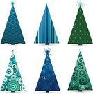 Christmas,Snowflake,Christmas Tree,Tree,1940-1980 Retro-Styled Imagery,Retro Revival,Blue,Tree Topper,Backgrounds,Vector,Pattern,Turquoise,Green Color,Striped,Swirl,Decoration,Elegance,Ilustration,Ornate,Set,Design,Star Shape,Christmas Ornament,Circle,Winter,Shiny,Vector Backgrounds,Illustrations And Vector Art,Vector Cartoons,Vector Ornaments,Vibrant Color