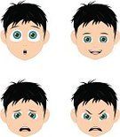 Facial Expression,Child,Human Face,Cartoon,Emotion,Little Boys,Human Eye,Little Girls,Human Head,Manga Style,Vector,Symbol,Hairstyle,Cheerful,People,Male,Small,Characters,Portrait,Short Hair,Blond Hair,Cute,Ilustration,Children Only,Human Lips,Laughing,Curly Hair,Black Hair,Female,Human Skin,Beauty,Caucasian Ethnicity,Smiling,Hair Clip,People,Elegance,Illustrations And Vector Art,Vector Cartoons,Design,Beauty In Nature,White Background,Beautiful