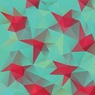 Square,No People,Mosaic,Origami,Painted Image,Geometric Shape,Color Gradient,Illustration,Cubism,Low-Poly-Modelling,Modern,Triangle Shape,Grid,Turquoise Colored