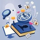 Computer Network,Social Issues,Communication,Internet,Privacy,Computer,E-Mail,Book,Global Communications,Profile View,People,Secrecy,Searching,Detective,Spy,Sharing,Computer Graphic,Human Eye,Pattern,Silhouette,Chaos,Ilustration,Mail,Heart Shape,users,Vector,Photograph,Love,Magnifying Glass,Human Face,Movie,Isolated,Home Video Camera,Computer Monitor,PC,Broadcasting,Outline,Wave Pattern,Annual,Envelope,Blue,Community,Communications Technology,Ripple,Technology
