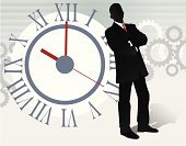 Time,Business,Silhouette,Businessman,Clock,Men,Motivation,People,Deal,Service,Team,Meeting,Fashion,Working,Control,Winning,Gear,Thinking,Vector,Ideas,Leadership,Technology,Communication,Backgrounds,Solution,Futuristic,Concepts,Business Person,Elegance,Standing,Success,Appointment,Expertise,Forecasting,Manager,Wisdom,Harmony,Variation,Teamwork,Global Business,Assistance,Agreement,Imagination,Style,Standing Out From The Crowd,Contemplation,Design Element,Suit,Business People,Inspiration,Business Concepts,Business,Reflection,Coordination,Business Symbols/Metaphors,Creativity,Wallpaper Stripper,Full Suit,Copy Space