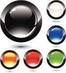 Interface Icons,Bubble,Black Color,Shiny,Abstract,Glass - Material,Simplicity,Metal,Circle,Symbol,Blue,Color Image,Red,White,Shape,Set,Orange Color,Vibrant Color,Purple,Bright,Green Color,Vector Icons,Sparse,Reflection,Computers,Multi Colored,Vector,Technology,Objects/Equipment,Ilustration,Illustrations And Vector Art,Computer Graphic