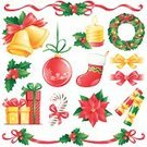 Christmas,Wreath,Holly,Christmas Cracker,Design Element,Garland,Candle,Vector,Cracker,Holiday,Poinsettia,Bell,Ribbon,Design,Set,Sock,Leaf,Pattern,Bow,Gift,Ilustration,Christmas Stocking,Decoration,Part Of,Christmas Ornament,Collection,Single Object,Gold Colored,Christmas Decoration,Gold,Isolated,Green Color,Plant,Winter,Cultures,White,Shiny,Candy Cane,Yellow,Spruce Tree,Red,Celebration,Paintings,Image,Holiday Symbols,Christmas,Season,Holidays And Celebrations,Vibrant Color,New Year's,Remote,Bright,Traditional Festival