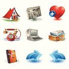 Symbol,Diary,Computer Icon,Web Page,Newspaper,Home Interior,Editor,House,favorite,Telephone,Residential Structure,File,Inbox,Color Image,Set,Computer Keyboard,Computer,Ring Binder,Interface Icons,Remote,Pencil,Label,Push Button,Vector,Exclusion,Arrow Symbol,Shadow,Design Element,Ilustration,Illustrations And Vector Art,Isolated Objects,Technology,White Background,Censorship