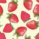 Strawberry,Pattern,Seamless,Fruit,Vector,Backgrounds,Food,Slice,Ilustration,Berry Fruit,Nature,Design,Leaf,Pink Color,Decoration,Wallpaper Pattern,Dessert,Sweet Food,Ripe,Group of Objects,Green Color,Beauty In Nature,Small,Image,Colors,Painted Image,Decor,Illustrations And Vector Art,Seed,Freshness,Yellow,Vector Backgrounds,Vector Cartoons,Red